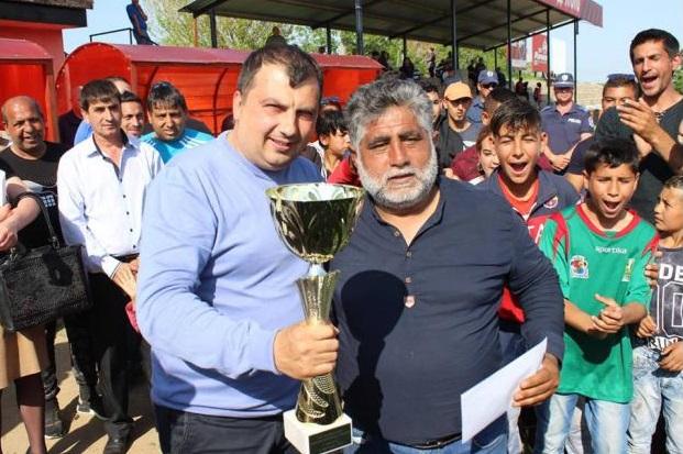Марин Рачев награди победителите в ромския турнир