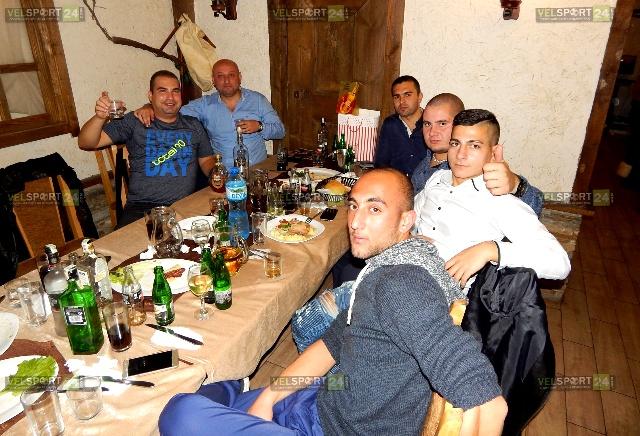 Празничното събитие донесе много положителни емоции на попълненията на пазарджишката колегия.