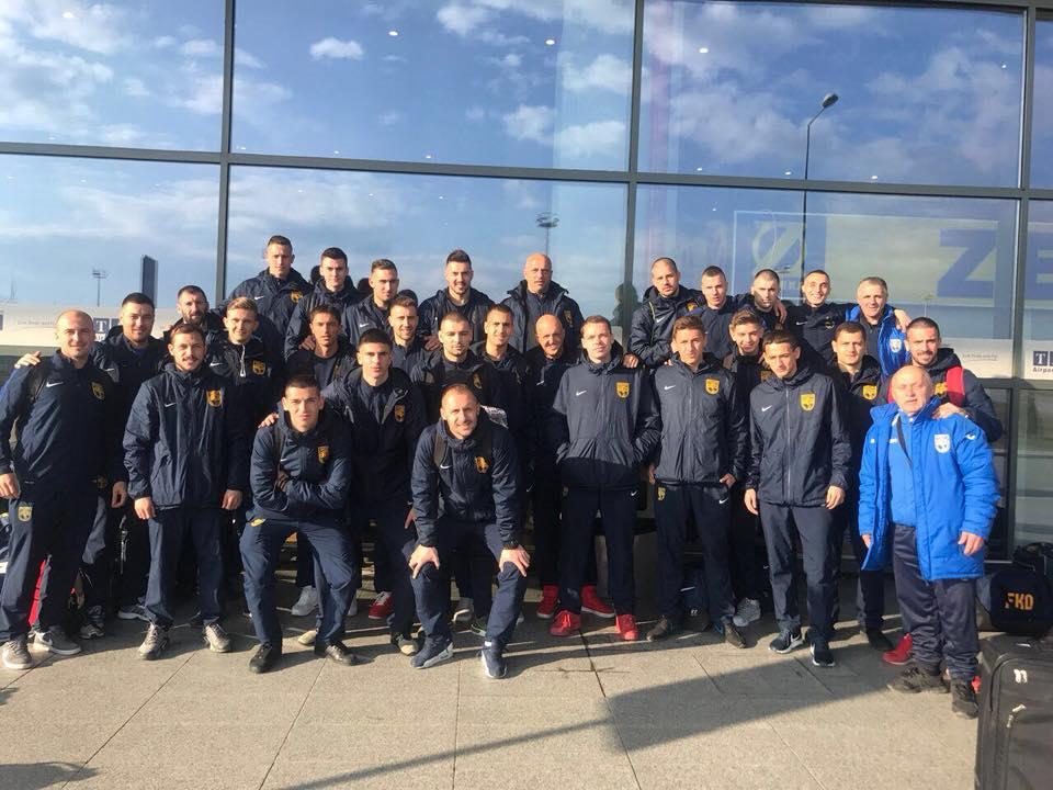 Отборът на Динамо в Анталия
