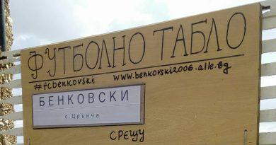 Бенковски (Црънча) с ново футболно табло