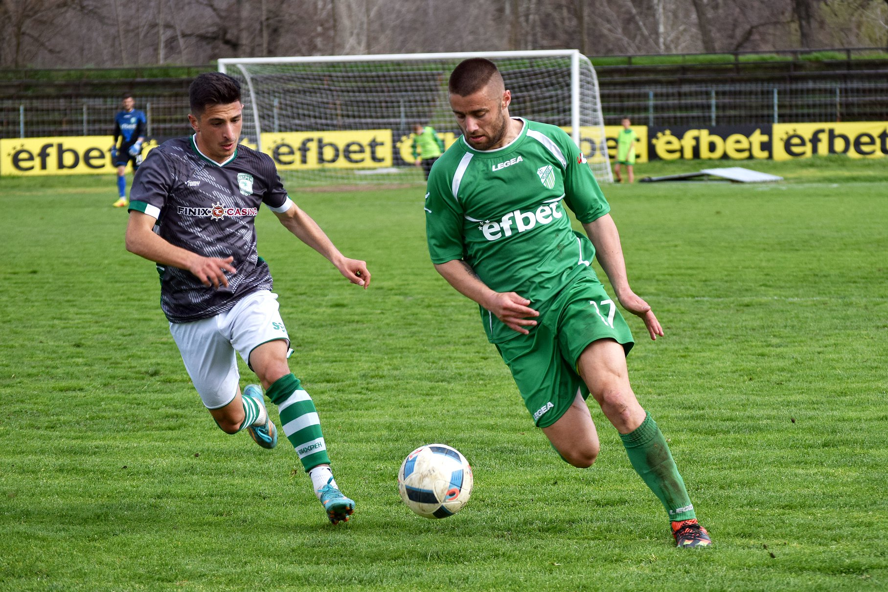 Кирил Георгиев вкара третия гол за Хебър.