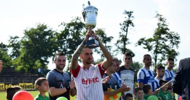 Награждават Хебър за спечелената промоция във Втора Професионална лига