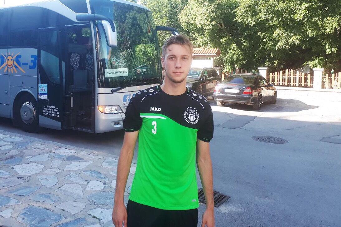 Томислав вече се присъедини към своите съотборници в Банско, където се провежда вторият подготвителен лагер на пазарджиклии.