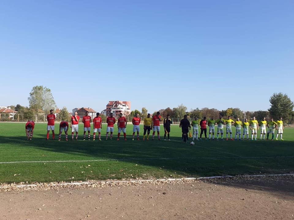 На терена на Спортното училище ФК Лесичово победи Юнак (Ивайло) с 1:0 с гол на Павел Велов.