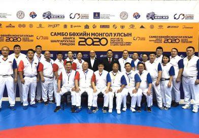 Иван Нетов беше главен съдия на шампионата на Монголия по бойно самбо
