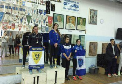 Сребро за Кристина Данаилова от Държавното