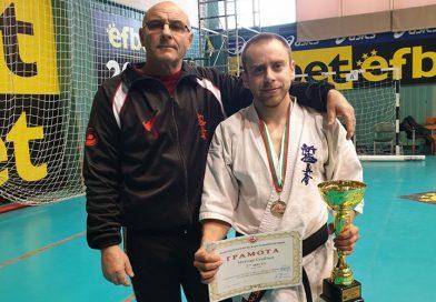 Методи Стойчев стана шампион в каратето